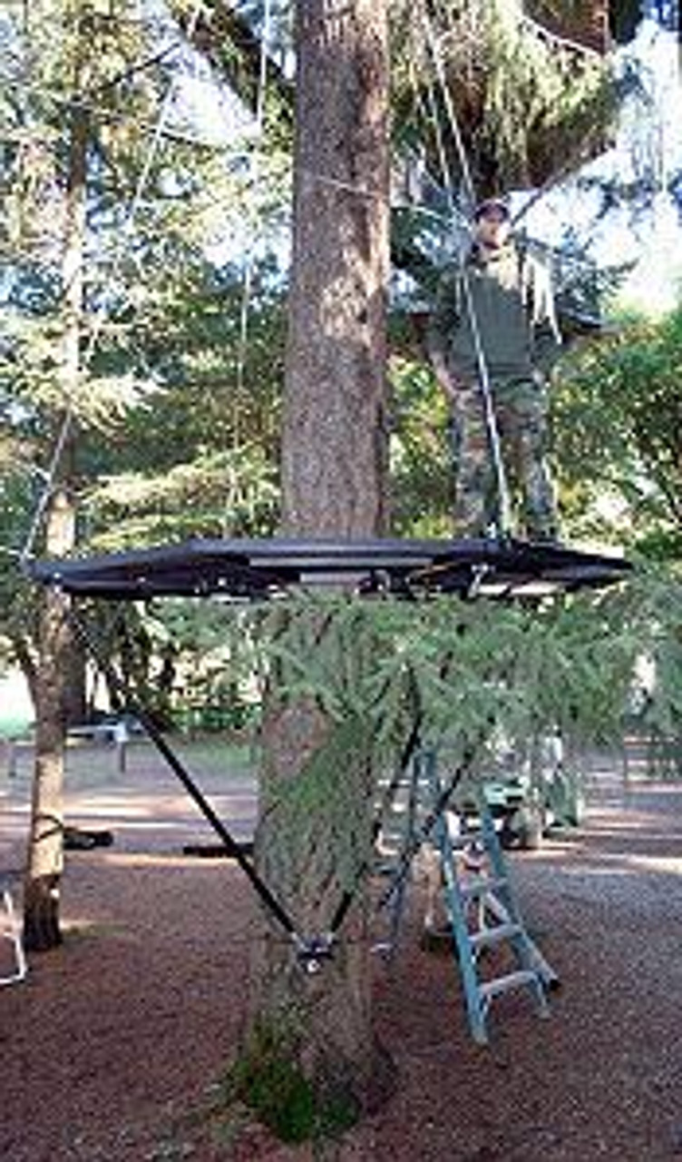 The Garnier 10 Zip Perch Platform Treehouses Com