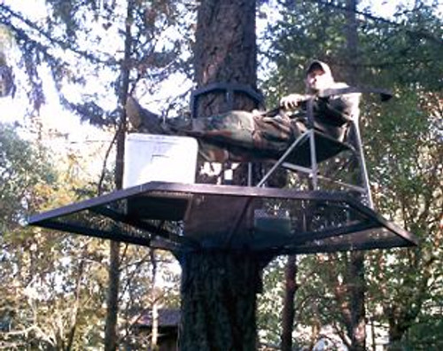 Portable Zip Perch and Hunting Stand Package