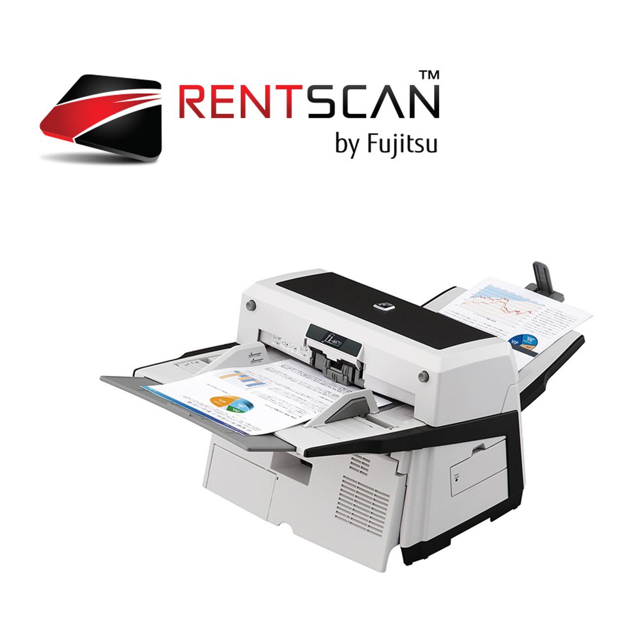 Fujitsu fi-6670 Scanner Rental, RentScan | Fujitsu Scanner Store