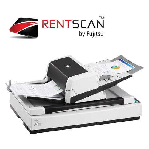 Fujitsu fi-6770 Flatbed Scanner Rental