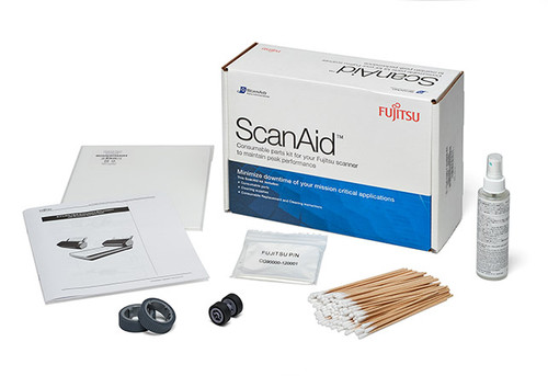 CLEANING SUPPLIES & CONSUMABLES, SCANAID KIT fi-7160 fi-7260 fi-7180 fi-7280 CG01000-280401