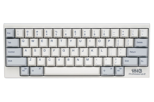 HAPPY HACKING KEYBOARD PROFESSIONAL 2 (WHITE) 45g KEY WEIGHT
