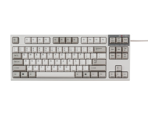 REALFORCE R2 PFU LIMITED EDITION KEYBOARD MID SIZE (IVORY) 45g KEY WEIGHT