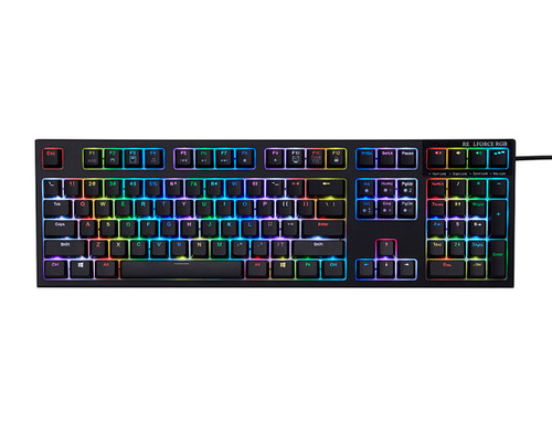 REALFORCE R2 RGB KEYBOARD FULL SIZE (BLACK)  45g KEY WEIGHT