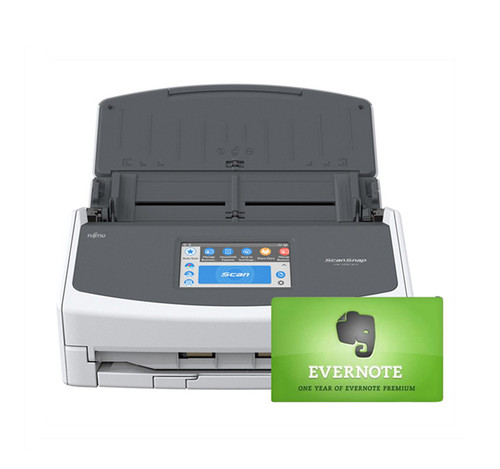 SCANSNAP iX1500 SCANNER BUNDLED WITH EVERNOTE PREMIUM