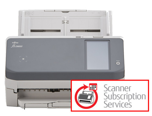 SUBSCRIPTION, fi-7300NX Scanner with Advanced Exchange warranty – easy monthly payments