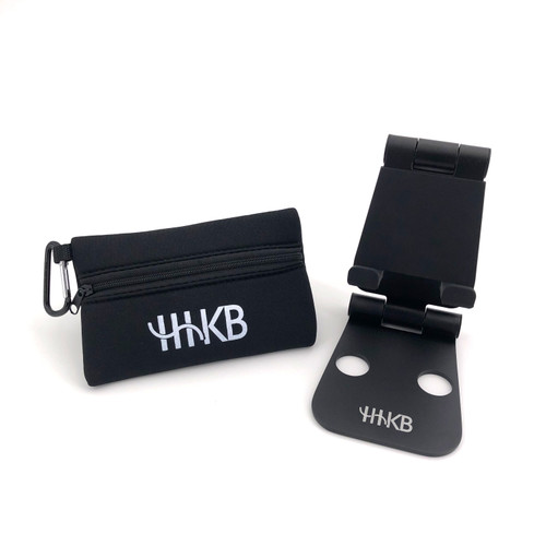 OPTION, HAPPY HACKING KEYBOARD (HHKB) ADJUSTABLE TABLET & PHONE STAND WITH MINI TRAVEL BAG