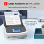 SCANSNAP iX1600 DELUXE SCANNER WITH ADOBE ACROBAT PRO DC (WHITE)