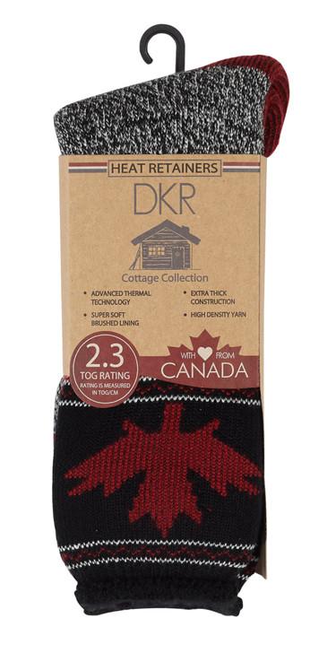 Maple Leaf Thermal Sock