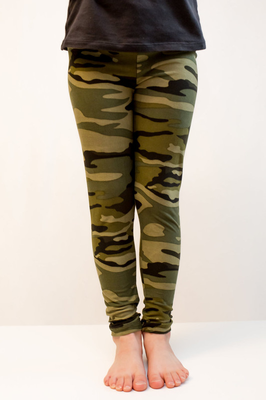 A perfect match to our ever popular Hunter's Wife - green camo print in our super soft, super comfy fabric.