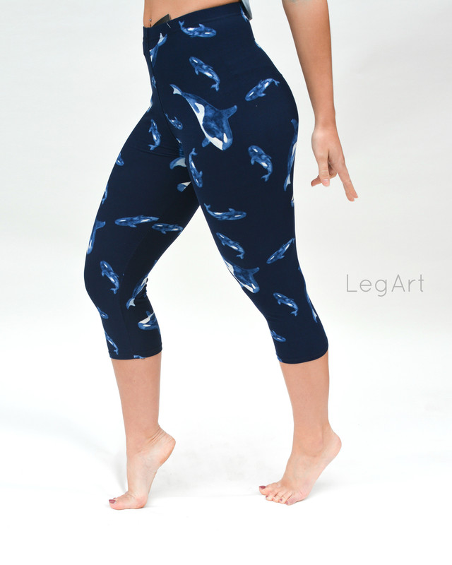 Klee Wyck Capri Leggings