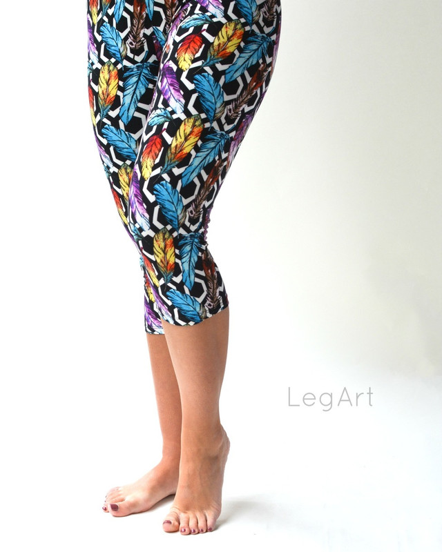 Birdcage Capri Leggings