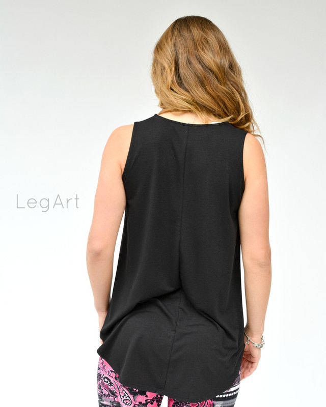 Veronika Black Sleeveless