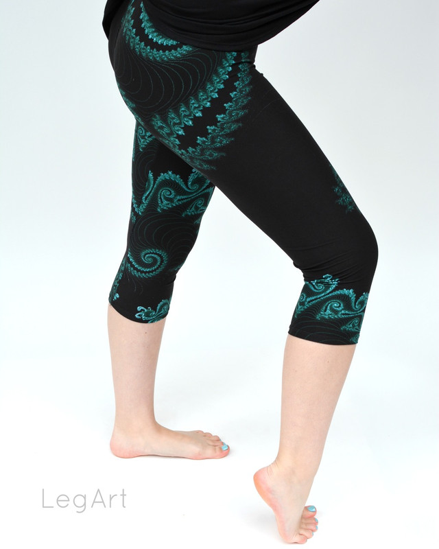 Fiddlehead Capri Leggings