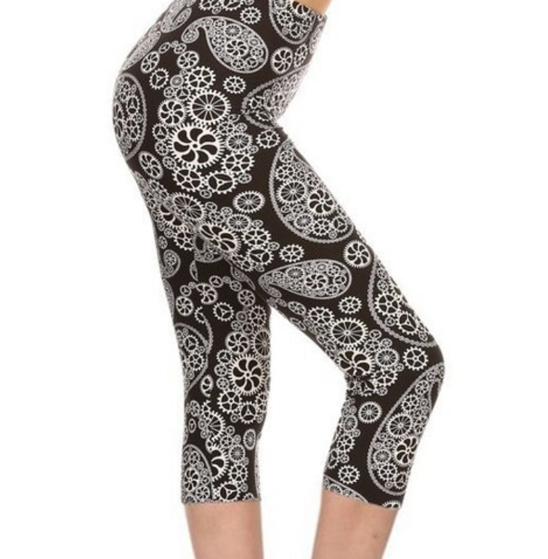 Switch Gears Capri Leggings