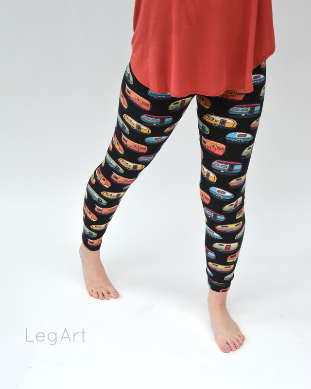 Happy Campers Leggings