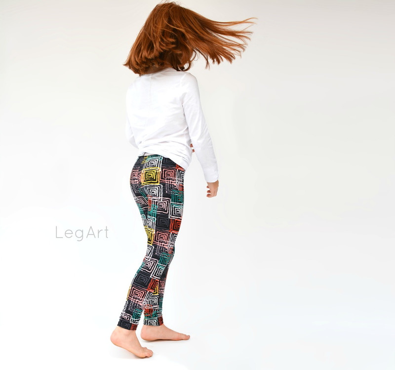 Outside the Box Child Leggings