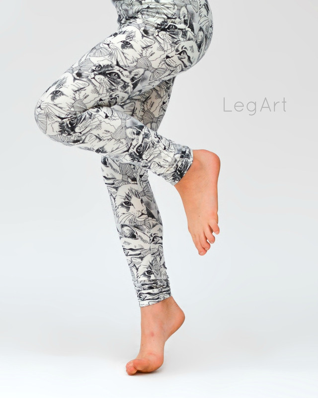 Comfy Critters Child Leggings