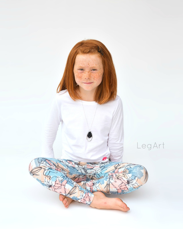 Bee Lilied Child Leggings