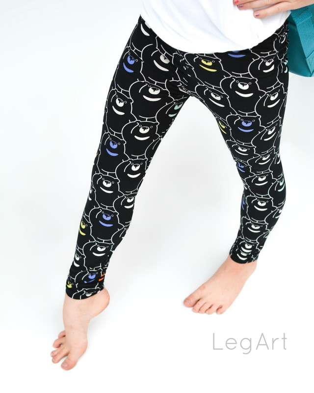 Bear Buddies Children's Leggings