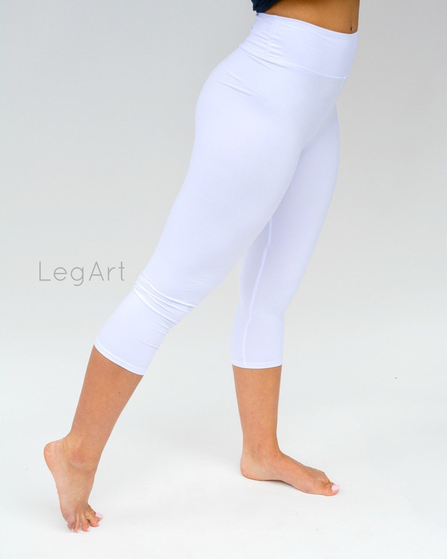 Solid Yoga Capri