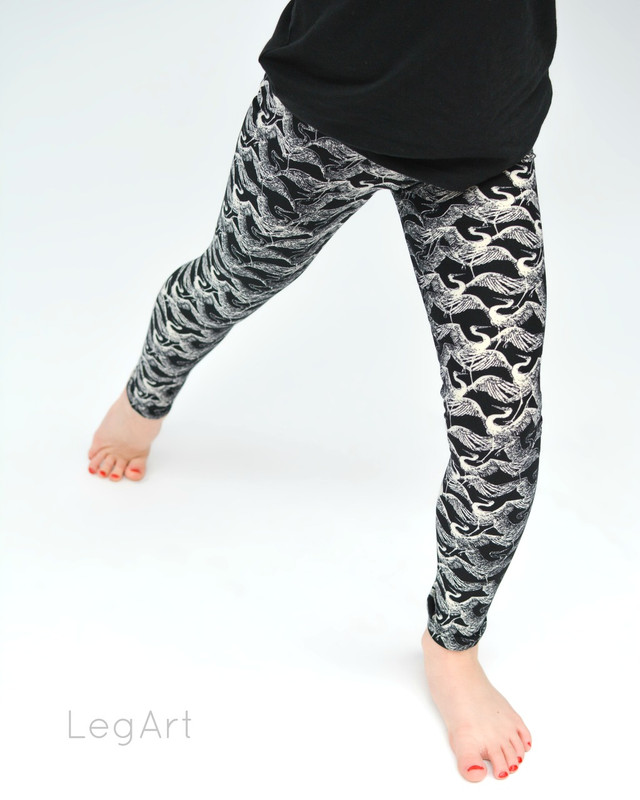 A Thousand Cranes Children's leggings
