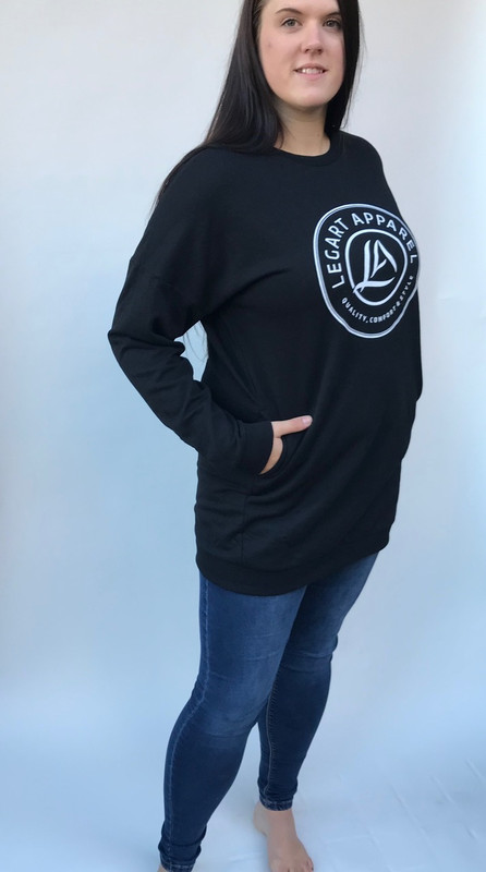 LegArt Iconic Crewneck Sweatshirt Black