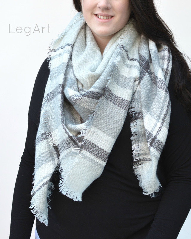 These scarves just never go out of style, you will want one for every day of the week! Made of soft brushed polly to keep you warm and big enough to use as a wrap, scarf or a throw, in a multitude of beautiful colours in large or smaller plaid with a little fringe detail.