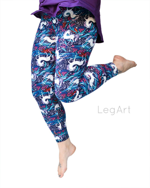 Enchanted Unicorns Leggings