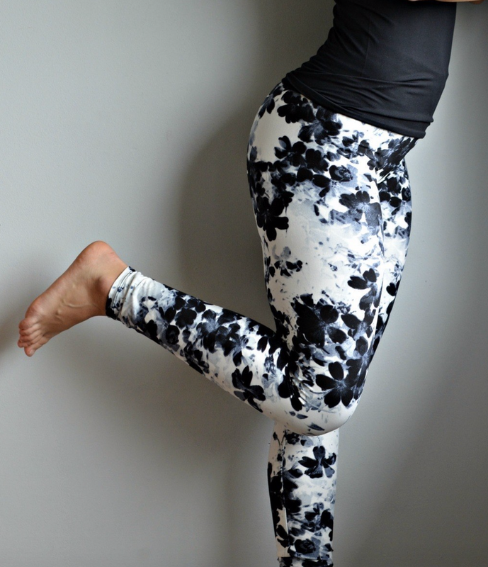Black Orchid Children's leggings