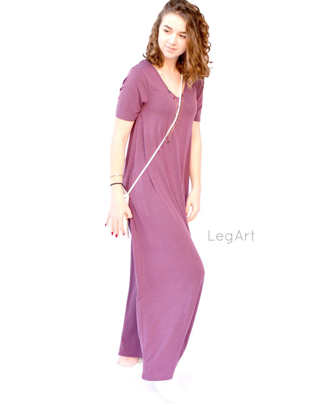 Everyday Dress Mauve