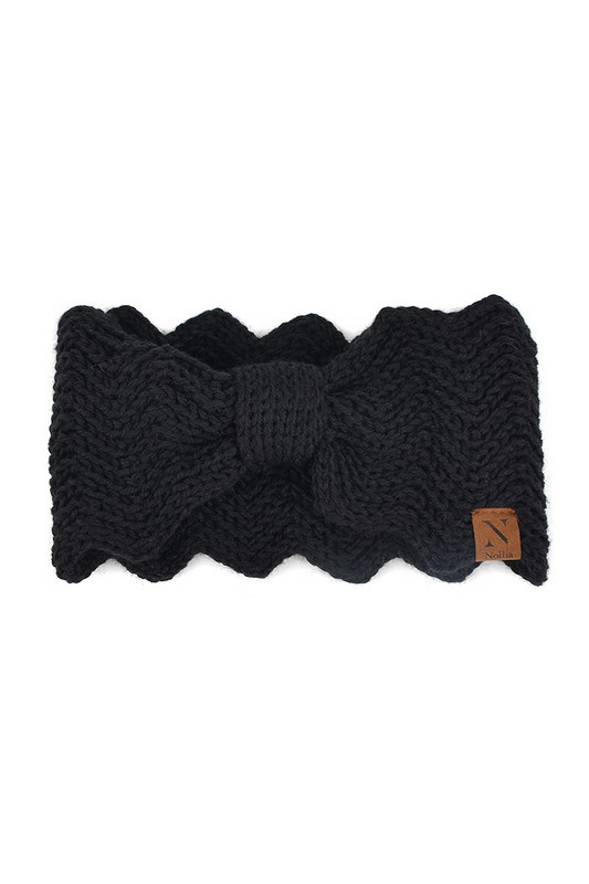 Knitted Bow Headbands
