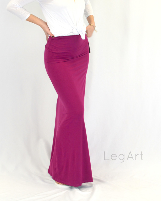 Maxi Skirt Magenta (One Size Only)