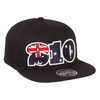 San Antonio Spurs Zephyr 210 Collection Australia Snapback Hat