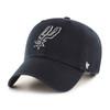 San Antonio Spurs Men's '47 Brand Clean Up Hat -Black