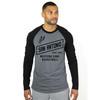 San Antonio Spurs Men's Sportiqe Clayton Long Sleeve Raglan Tri-Blend T-Shirt