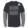 San Antonio Spurs Youth Outerstuff Club Combe Long Sleeve T-shirt