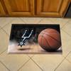 San Antonio Spurs FanMats Scraper Mat