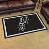 San Antonio Spurs FanMats 4x6 Rug
