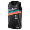 San Antonio Spurs Men's Nike 2020 Swingman Jersey - Walker IV