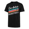 San Antonio Spurs 47 Brand Men's City Edition Super Rival T-Shirt