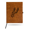 San Antonio Spurs Rico Personalized #1 DAD Leather Notebook
