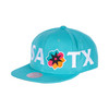 San Antonio Spurs Men's Mitchell and Ness La Cultura 2 SA TX Teal Snap Back Hat