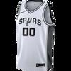 San Antonio Spurs Youth Nike Custom Personalized Association Swingman Jersey