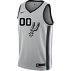 San Antonio Spurs Men's Nike Custom Personalized Statement Authentic Jersey