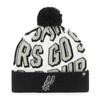 San Antonio Spurs Men's '47 Brand Jump Shot Cuffed Knit Hat