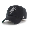 San Antonio Spurs Men's '47 Brand Fitted Franchise Hat - Black With Spur Logo
