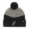 San Antonio Spurs 47 Brand Backdrop Cuff Knit Cap