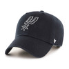San Antonio Spurs Women's Sugar Miata Clean Up Hat - Black with Spur Logo