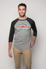 San Antonio Spurs Men's Sportiqe Schwarber Raglan Long Sleeve T-Shirt